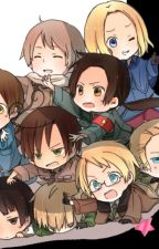 Hetalia ReaderxVarious by FloatingPandaMonster