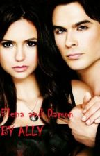 Vampire Diaries- Elena and Damon by AllyHarmanEverdeen