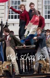 Les Mis: high school by BarricadeAtFleetst