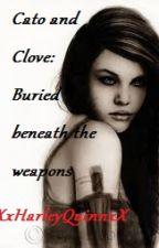 Cato and Clove: Buried beneath the weapons by XxHarley_QuinnxX