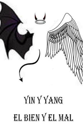 yin y yang, el bien y el mal by evagaga99