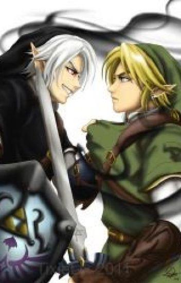 Hyrule Academy~ Link x Reader x Dark Link