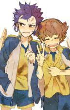 "KyoTen. "" Un ""compañero"" de piso "" (Inazuma Eleven Go) by Iritsu"
