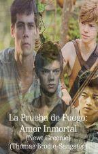 La Prueba de Fuego: Amor Inmortal(Newt Greenie)(Thomas Brodie-Sangster) by Andrea_23199