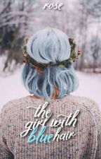 The girl with blue hair by suculent