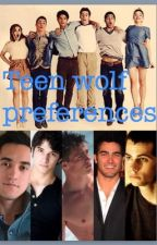 Teen wolf prefrences by Neon_dragon38