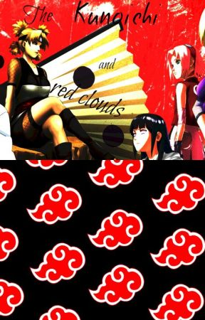 The kunoichi and red clouds by lovediamonds1234