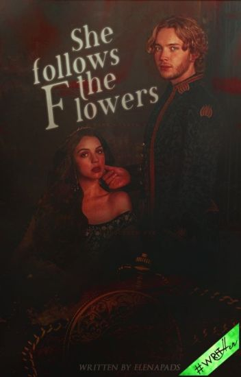 She follows the flowers