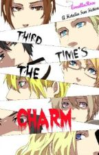 Third Time's The Charm (Hetalia Fan Fiction, Sequel to 'Kidnapped, Again?!') by EveallaRose