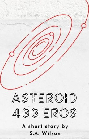 Asteroid 433 Eros by sawauthor