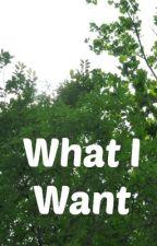 What I Want by emilyrepublic