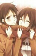 The scarf Eren x Mikasa by animelover_927