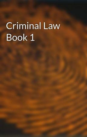 criminals law