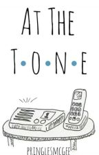 at the tone ✆ l.s. by applejwoos