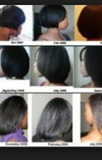 African American: Hair Growth by DJK0405