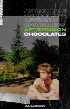 afternoon chocolates | luke hemmings by calumtoxic
