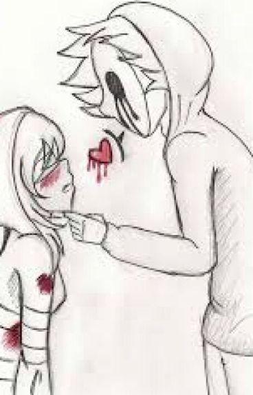 no crey que fuera posible enamorarme( eyeless jack y tu)