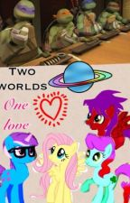 Two worlds, one love        -{[(a tmnt/mlp fanfic)]}- by tmnt2012_Vishnu_
