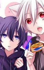 The day we met (neko!mafumafu and wolf!soraru) by YuzukiOkami