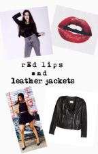 Red Lips and Leather Jackets by cabello-jauregui