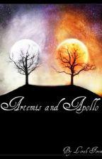 Artemis and Apollo by lalalerah