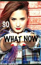 So what Now? Louis Tomlinson Demi Lovato by Aweirdox3