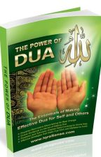 THE POWER OF DUA by iqrasense