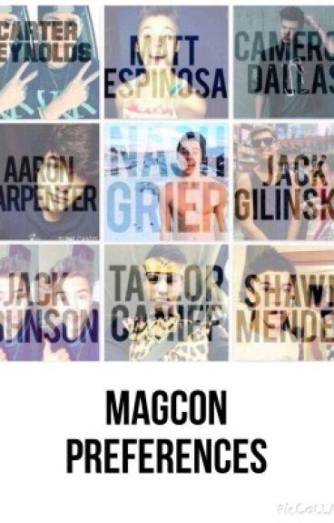 Magcon Preferences