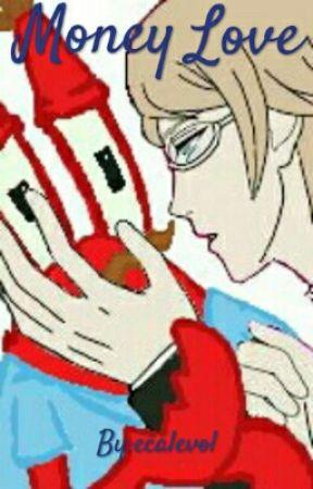 Money Love (Togami x Mr Krabs) by cryoriku
