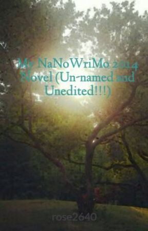 My NaNoWriMo 2014 Novel (Un-named and Unedited!!!) by rose2640