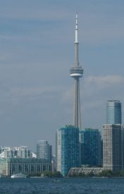 It's easy to see the world in downtown Toronto by BruceWBishop