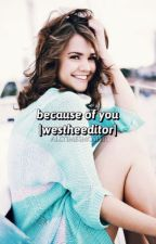 Because Of You (Wesley Johnson/ WesTheEditor) by AllTimeSmosher