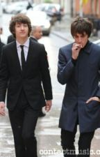 The True Alex Turner and Miles Kane by TooCold21