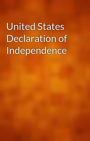 United States Declaration of Independence by gutenberg