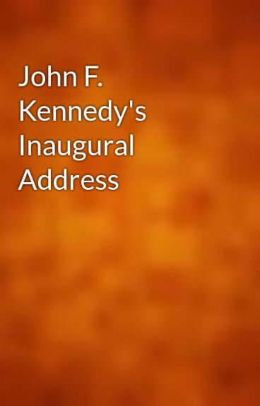 John F. Kennedy's Inaugural Address by gutenberg