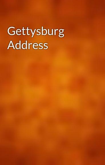 Gettysburg Address by gutenberg