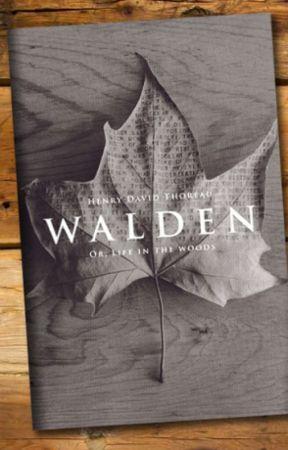 Walden by gutenberg