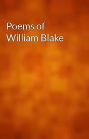 Poems of William Blake by gutenberg