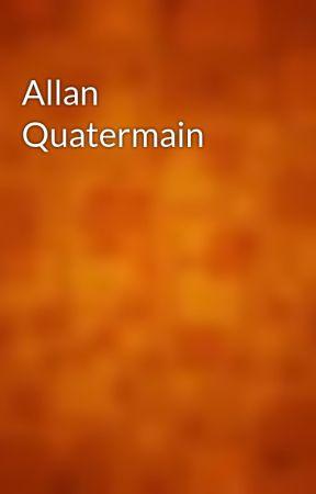 Allan Quatermain by gutenberg
