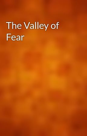 The Valley of Fear by gutenberg