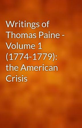 Writings Of Thomas Paine