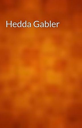 Hedda Gabler by gutenberg