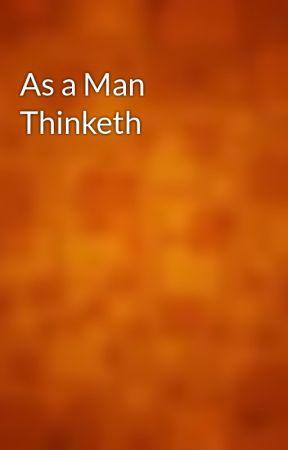 As a Man Thinketh by gutenberg