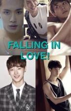 Falling in love!(UNIQ) by im_a_V_girl_BTS