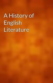 A History of English Literature by gutenberg