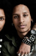 Les Twins and Angelica by love_is_live