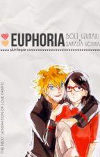 Euphoria {Bolt Uzumaki x Sarada Uchiha} by skittlepie