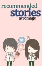 Recommended Stories by DuskMaidn