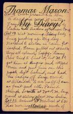 Thomas Mason's Diary! by _Mittens_