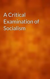 A Critical Examination of Socialism by gutenberg